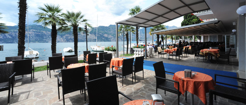 Excelsior Bay Hotel, Malcesine, Lake Garda, Italy - Terrace with lake view.jpg